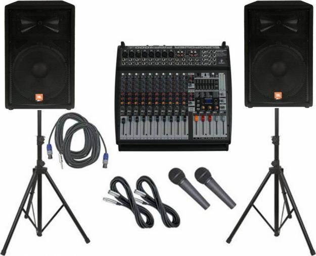 La difícil tarea de alquilar equipo de sonido